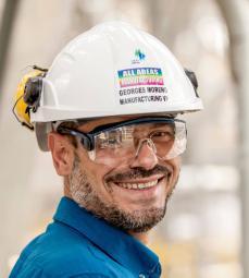 Georges MORENO, directeur de production de SATORP et chef de la mission TOTAL. Raffinerie de Jubail, Arabie Saoudite. Satorp.