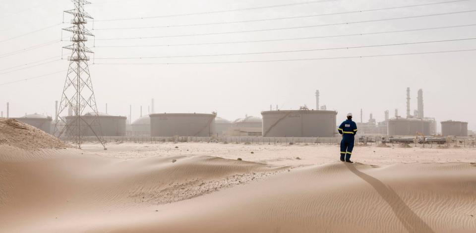 Raffinerie de Jubail, Arabie Saoudite. Satorp.