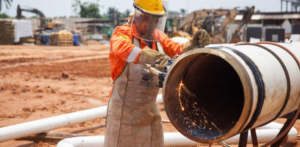 Découpe du pipeline. OML58 Up grade, NOPL pipeline, Owaza node.